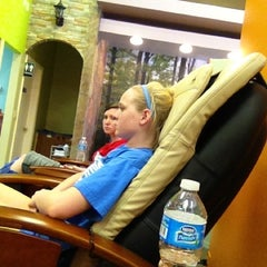 Photo taken at Oasis Spa & Nails by Kelsey F. on 4/1/2012