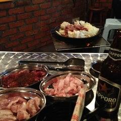 Photo taken at Gerai Makanan Japanese BBQ by YK W. on 6/5/2013
