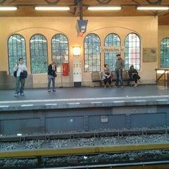 Photo taken at U Schlesisches Tor by Giulia on 10/1/2012
