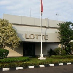 Photo taken at Lotte Mart - Head Office by Aan on 7/19/2013