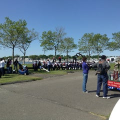 Photo taken at Veterans Memorial Park by Ian B. on 5/27/2013