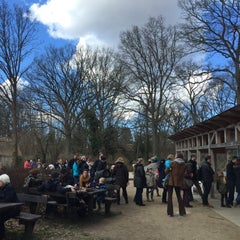 Photo taken at Frilandsmuseet by Michael F. on 4/3/2015