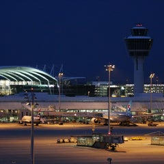 "Photo taken at München Flughafen ""Franz Josef Strauß"" (MUC) by Chris R. on 9/22/2013"