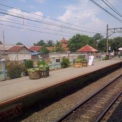 Photo taken at Stasiun Cilebut by Ersa H. on 5/4/2013