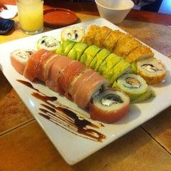 Photo taken at Raiön Sushi by Edgar S. on 3/23/2014