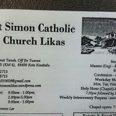 Photo taken at St. Simon Catholic Church by chrispin m. on 8/31/2014