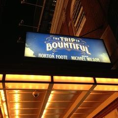 Photo taken at Stephen Sondheim Theatre by Kendra C. on 9/2/2013