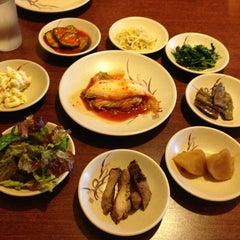 Photo taken at Dolsot House | K-Town BBQ Korean Restaurant by Tho P. on 7/14/2013