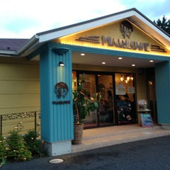 Photo taken at プリンショップ & カフェ マーロウ (MARLOWE) 逗葉新道店 by mizutani on 7/20/2013