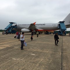 Photo taken at Vinh Airport (VII) Sân bay Vinh by Sergey K. on 11/12/2014