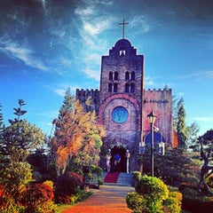 Photo taken at Caleruega Church by aryeni_ d. on 2/2/2013