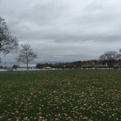 Photo taken at Roger Sherman Baldwin Park by Stephanie Dunn A. on 11/11/2015