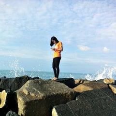 Photo taken at Hadsaengchan Resort & Restaurant by kem k. on 9/13/2014