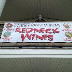 Photo taken at Torrey Ridge Winery by Angi M. on 9/14/2013