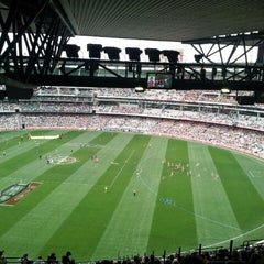 Photo taken at Melbourne Cricket Ground (MCG) by Troy C. on 4/14/2013