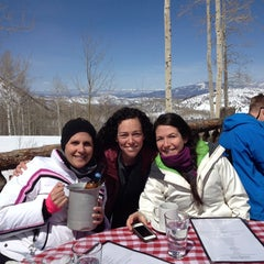 Photo taken at Lynn Britt Cabin by Maria G. on 3/29/2014