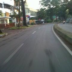 Photo taken at Jalan Ir. H. Djuanda by Wien Y. on 7/11/2013