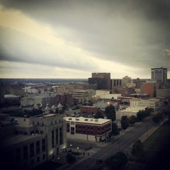 Photo taken at Wichita City Hall by Colleen S. on 10/3/2013