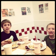 Photo taken at Five Guys by TJ G. on 10/28/2012
