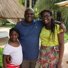 Photo taken at Le Méridien Ibom Hotel & Golf Resort by Paddy A. on 8/9/2014