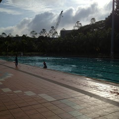 Photo taken at Yio Chu Kang Swimming Complex by amanda on 3/2/2013