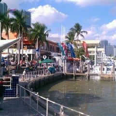 Photo taken at Bayside Marina by Gursel M. on 1/27/2013
