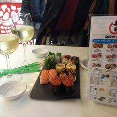 Photo taken at Sushi King by JJ p. on 1/9/2015