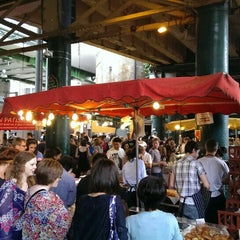Photo taken at Borough Market by Marco B. on 7/20/2013