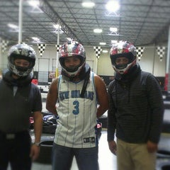Photo taken at Fast Lap Indoor Kart Racing by Avril T. on 10/22/2012