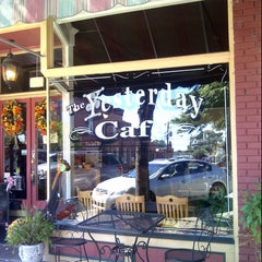 Photo taken at The Yesterday Cafe by Greg T. on 10/19/2013