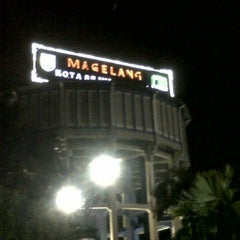 Photo taken at Alun - Alun Kota Magelang by Christ L. on 8/17/2013