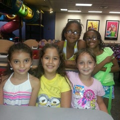 Photo taken at Chuck E. Cheese's by Cynthia S. on 10/4/2013