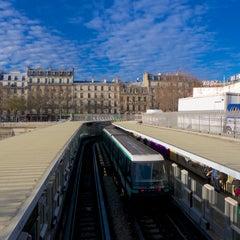 Photo taken at Métro Bastille [1,5,8] by Parisian Geek on 12/15/2013