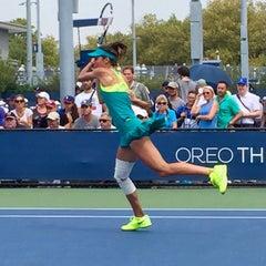 Photo taken at Court 13 - USTA Billie Jean King National Tennis Center by Fm D. on 8/31/2015