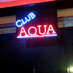 Photo taken at Club Aqua by Tuba U. on 8/30/2014