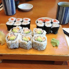 Photo taken at Sushi Itoga by Chris W. on 9/7/2013