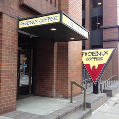 Photo taken at Phoenix Coffee by Neal E. on 4/17/2013