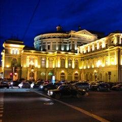 Photo taken at Мариинский театр / Mariinsky Theatre by Konstantin S. on 11/10/2012