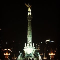 Photo taken at Monumento a la Independencia by Oscar S. on 5/5/2013