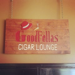 Photo taken at Goodfellas Cigar Lounge by Ruben G. on 3/21/2014