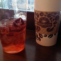 Photo taken at Second Cup by Cara A. on 2/5/2014