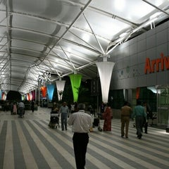 Photo taken at Chhatrapati Shivaji International Airport (BOM) by Anu T. on 7/15/2013