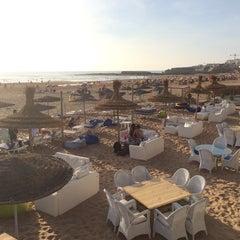 Photo taken at Zimer beach by Tarik M. on 5/11/2014