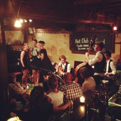 Photo taken at Hot Club de Gand by Zoe B. on 8/26/2013