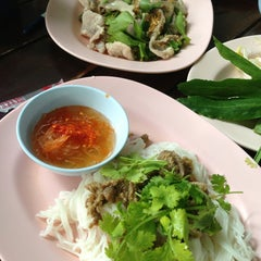 Photo taken at ร้านญวน (Yuan Restaurant) by Panisara S. on 3/3/2013