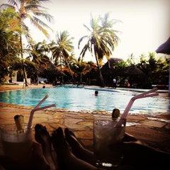 Photo taken at Sea Bar @ Uroa Bay Beach Resort by Andreas O. on 2/23/2014