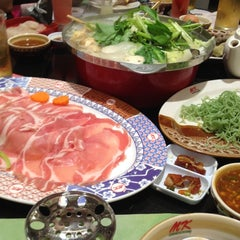Photo taken at MK (เอ็มเค) by Jiträ C. on 11/25/2012