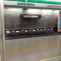 Photo taken at Metro Quinta Normal by Jorge K. on 12/23/2012