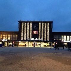 Photo taken at Duisburg Hauptbahnhof by Ingo S. on 11/22/2013