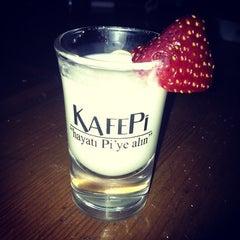 Photo taken at KafePi Asmalımescit Bomonti Brasserie by Joëlle A. on 11/28/2012